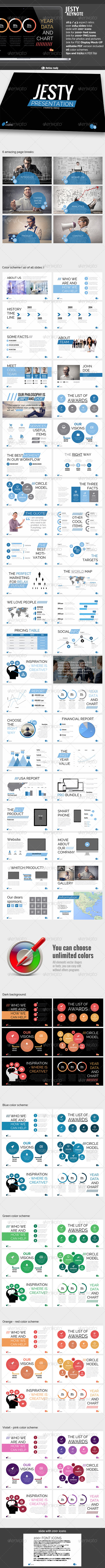 GraphicRiver Jesty Keynote presentation 8390175