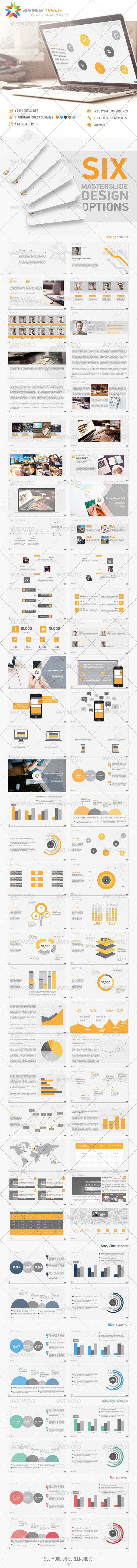 GraphicRiver Business Trends Keynote Template 8373682