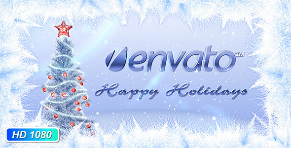After Effects Project - VideoHive Christmas tree greeting 853201