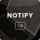 Notify - Notification Email + Themebuilder Access - ThemeForest Item for Sale