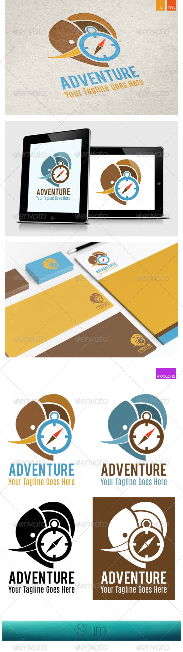 GraphicRiver Adventure Logo 8390443
