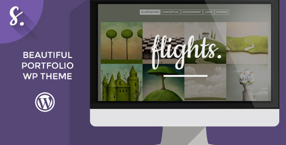 Flights Creative Portfolio WordPress Theme