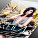Guest Dj Party Flyer template
