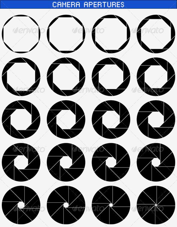 GraphicRiver Camera Apertures 02 8390536
