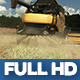Modern Harvester On The Rape Field 12 - VideoHive Item for Sale
