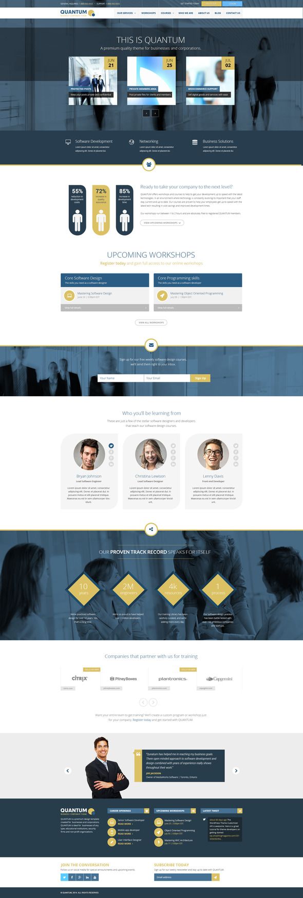 Quantum responsive business template over millions vectors quantum responsive business template business corporate toneelgroepblik Gallery
