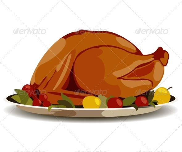 GraphicRiver Thanksgiving Turkey 8391006