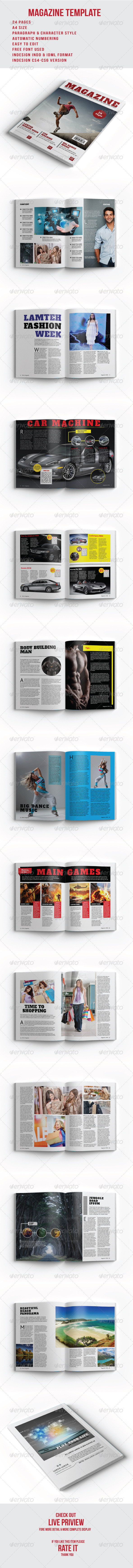 GraphicRiver Magazine Template 8350613