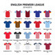 Football Jerseys  - GraphicRiver Item for Sale