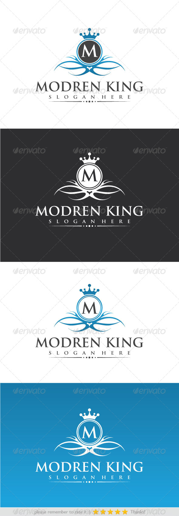 GraphicRiver Modren King 8391089