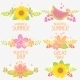 Floral Design Set - GraphicRiver Item for Sale