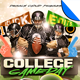 College Football Game Day Flyer Template - GraphicRiver Item for Sale