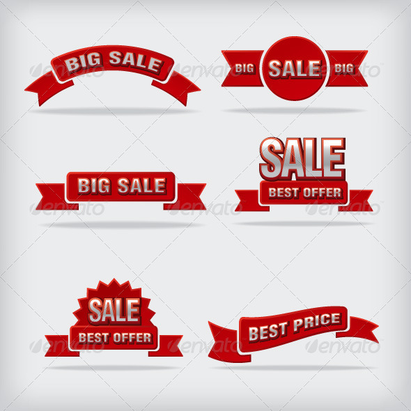 GraphicRiver Sale Labels 8391367