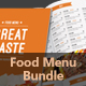 Food Menu Bundle 2