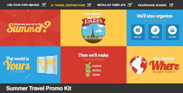 Summer Travel Promo Kit