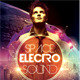Space Electro Sound Party Flyer - GraphicRiver Item for Sale