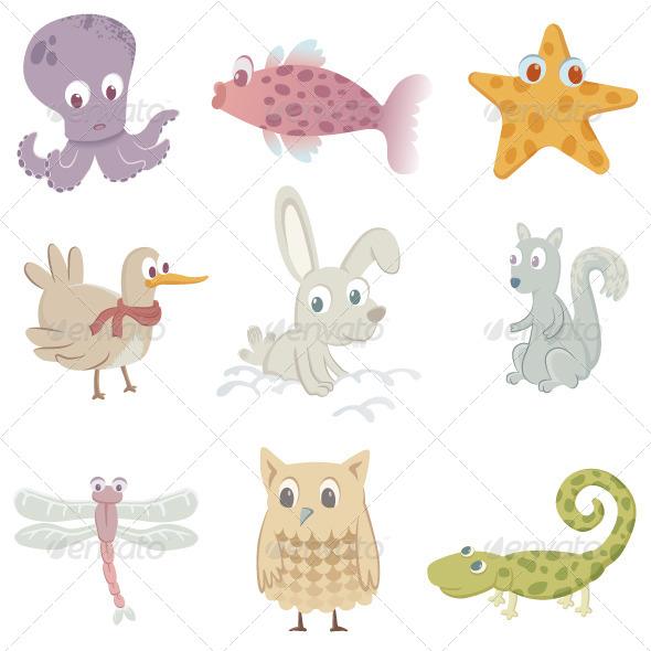 GraphicRiver Nine Animals 8391678