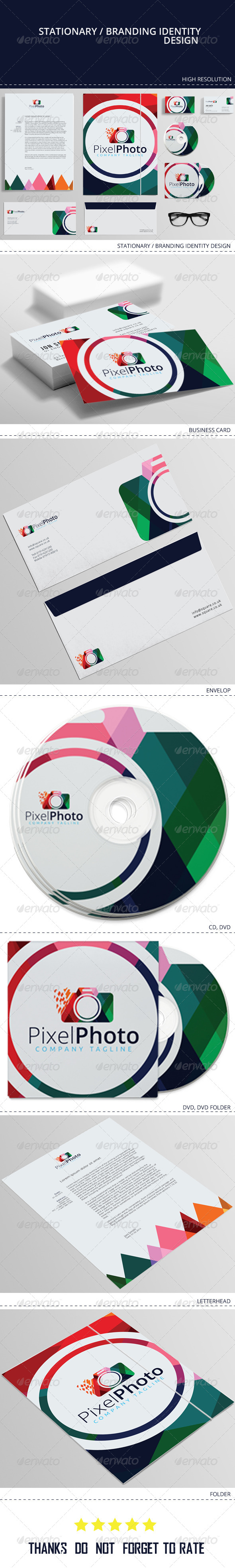 GraphicRiver Corporate Identity Pixel Media 8366787