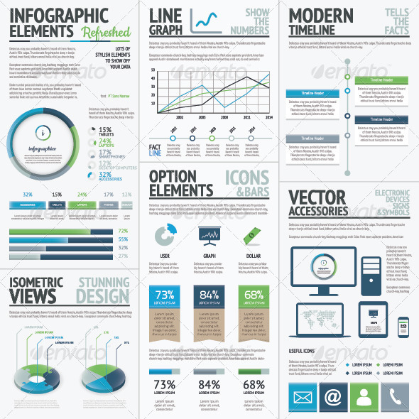 Finance Economy and Business Vector Infographic