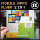 Mobile Apps Business Flyer / Magazine Ads - GraphicRiver Item for Sale