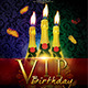 VIP Birthday Flyer Vol.2 - GraphicRiver Item for Sale