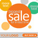 Flash banner with sale offer - ActiveDen Item for Sale