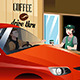 Barista Serving Customer - GraphicRiver Item for Sale