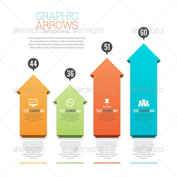 GraphicRiver Graphic Arrows Infographic 8398904