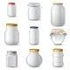 Empty Glass Jars - GraphicRiver Item for Sale