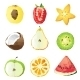 Fruit Pieces - GraphicRiver Item for Sale