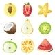Fruit Pieces - GraphicRiver Item for Sale