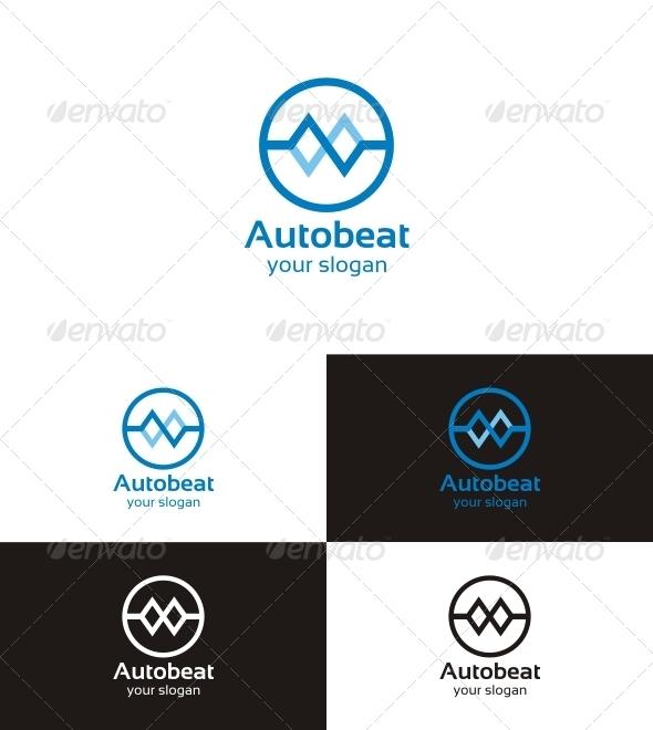 Graphic River Autobeat Logo Templates -  Symbols 853647