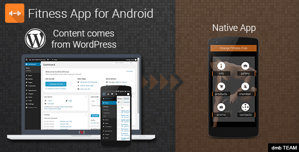 Fitness App for Android - CodeCanyon Item for Sale