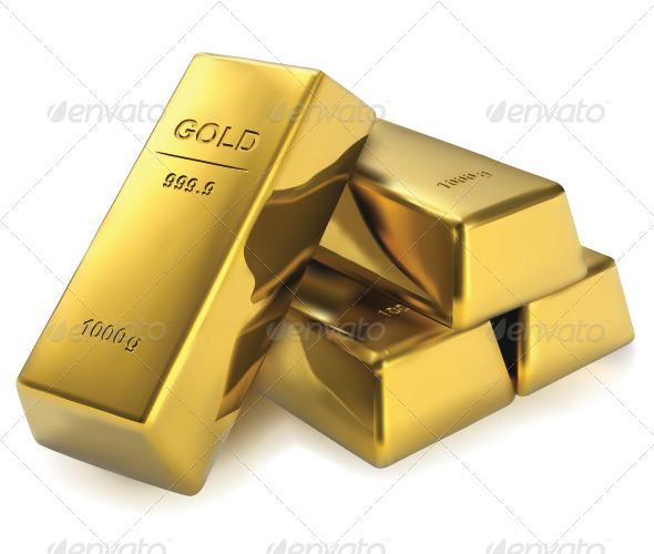 GraphicRiver Gold Bar 8399567