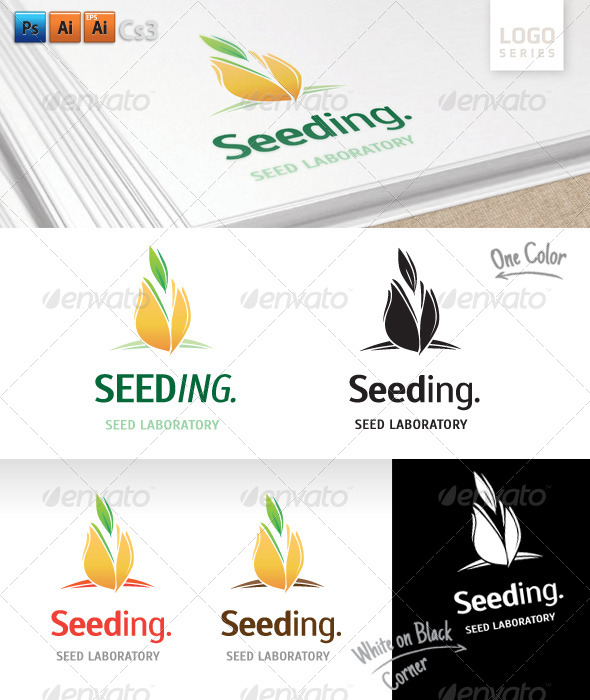 GraphicRiver Seeding Logo 8400771