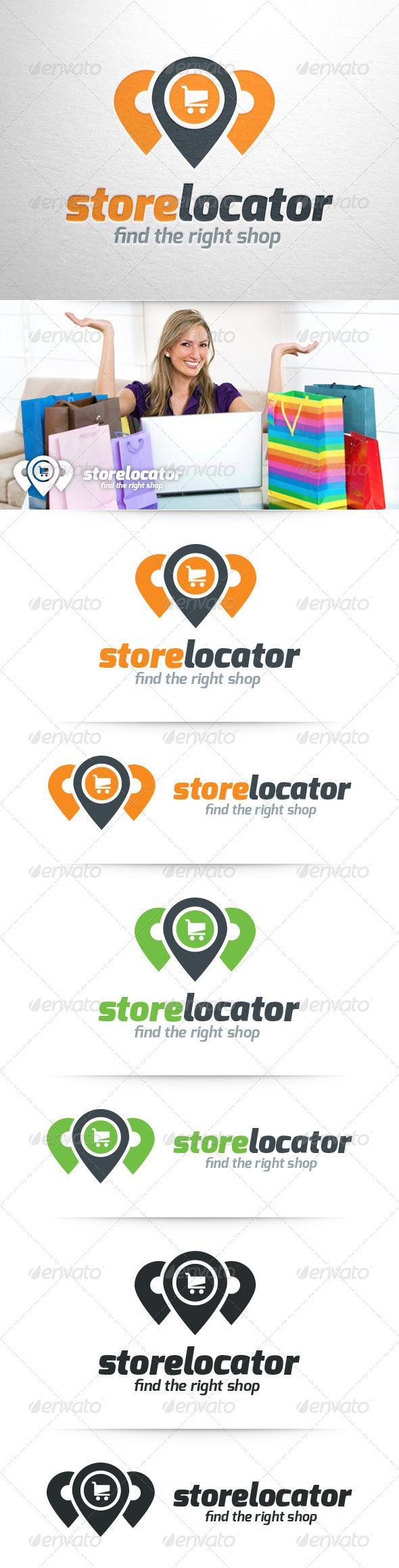 GraphicRiver Store Locator Logo Template 8401245