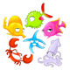 Funny Sea Animals - GraphicRiver Item for Sale