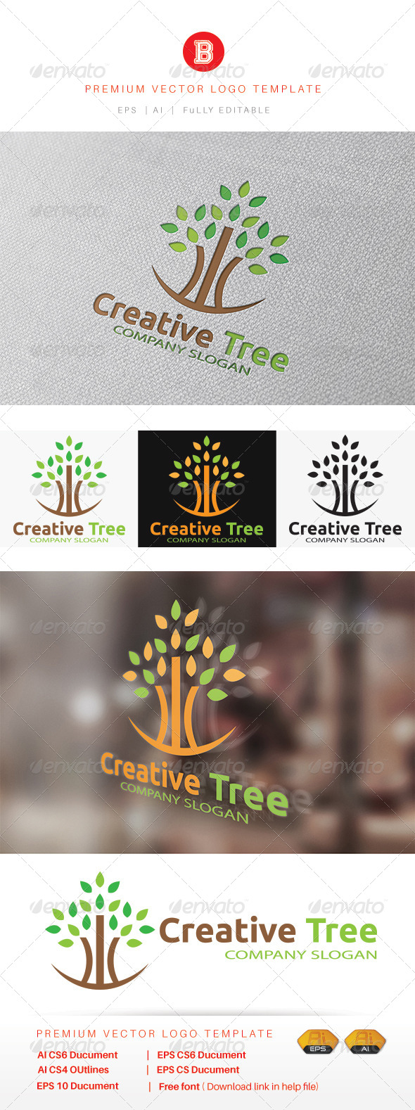 GraphicRiver Creative Tree 8401958