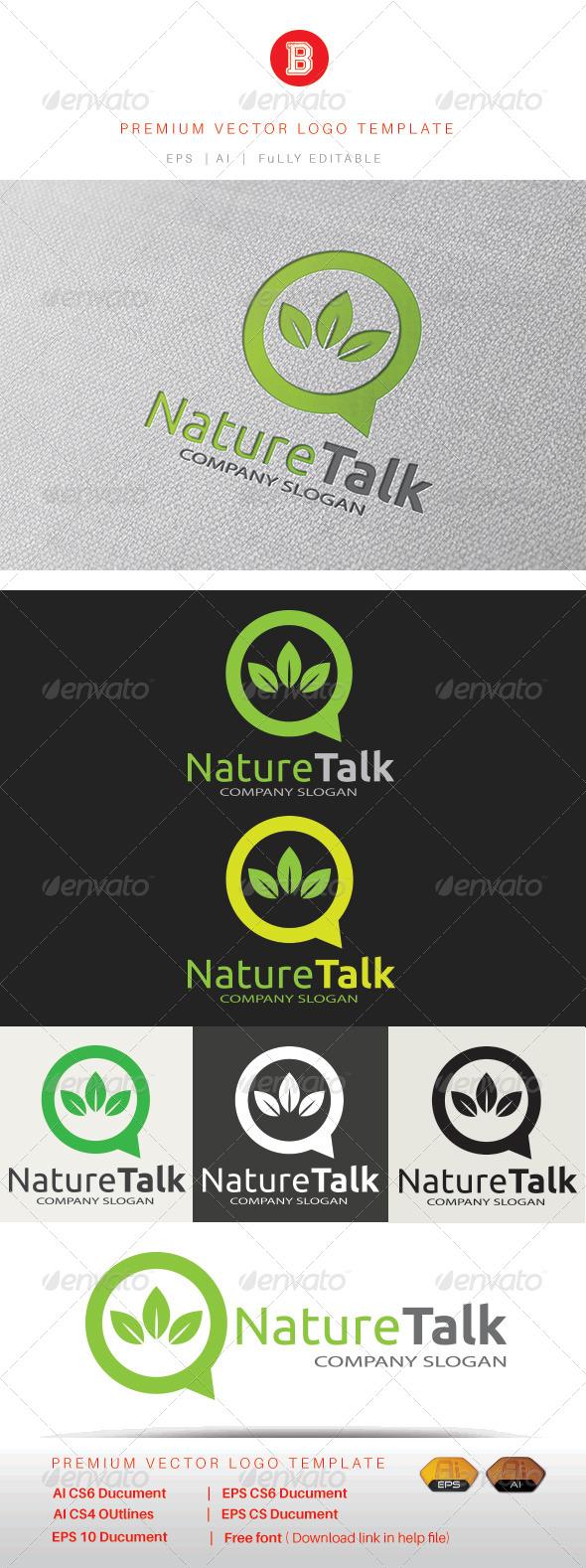 GraphicRiver Nature Talk 8403131