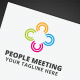 People Meeting Logo - GraphicRiver Item for Sale