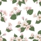 Seamless Apple Tree Flower Pattern - GraphicRiver Item for Sale