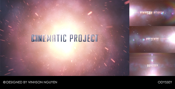 After Effects Project - VideoHive Odyssey 853921