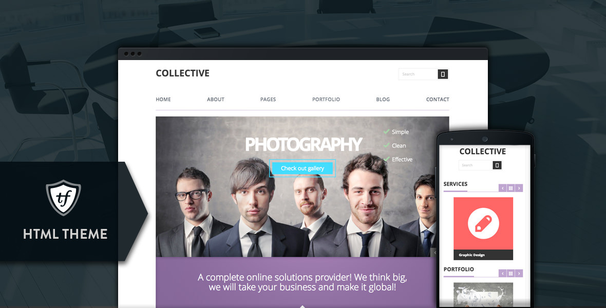 Collective - Professional HTML Theme