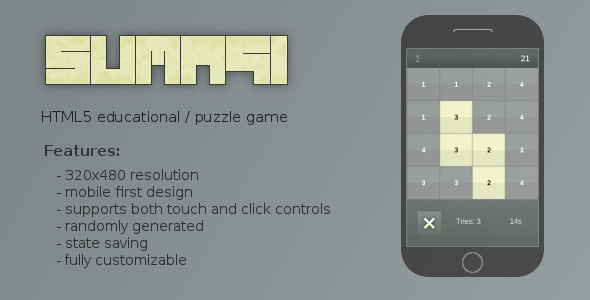 CodeCanyon Sumagi Educational Puzzle Game 8405317
