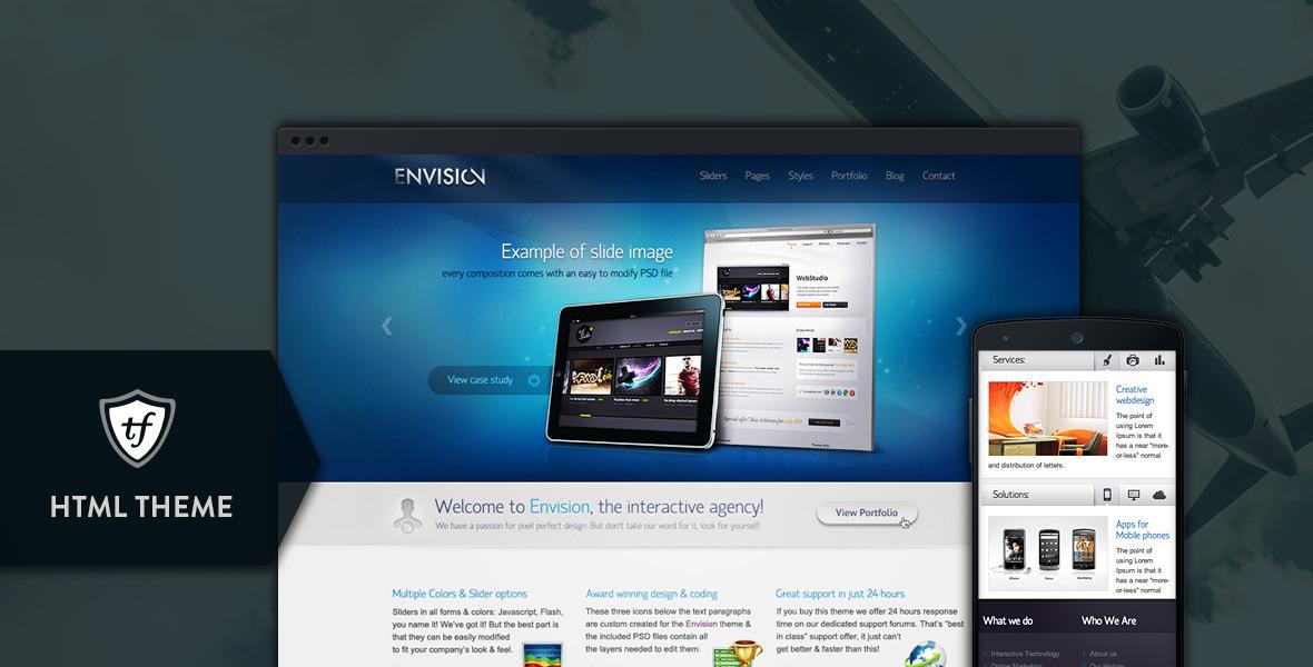 Envision HTML - Corporate portfolio theme