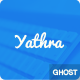 Yathra - Responsive Multipurpose Ghost Theme - ThemeForest Item for Sale