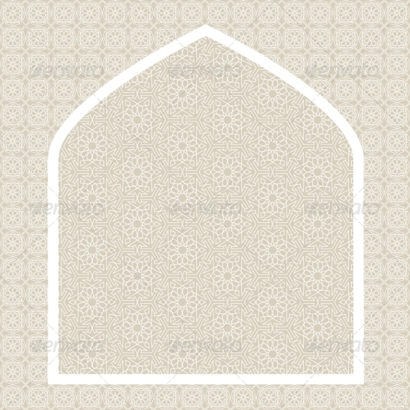 GraphicRiver Islamic Card 8405474