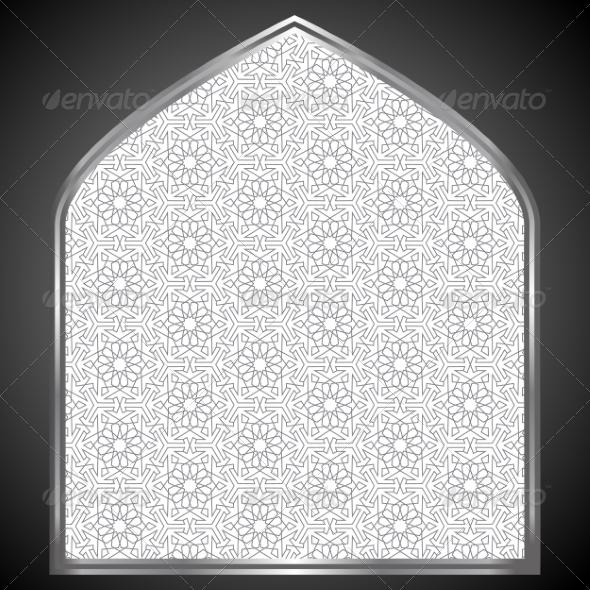 GraphicRiver Islamic Card 8405476