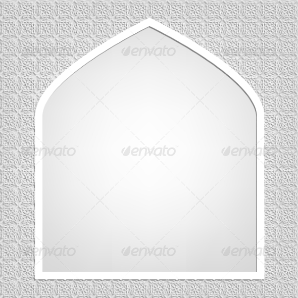 GraphicRiver Islamic Card 8405480