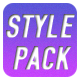 Photoshop Flat Style Pack - GraphicRiver Item for Sale